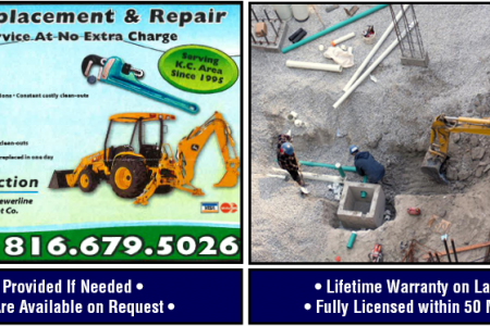 An Affordable Sewer Line Replacement Co. Infographic