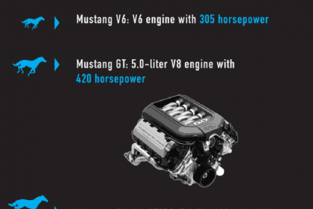 An Inside Look at the 2014 Ford Mustang Infographic