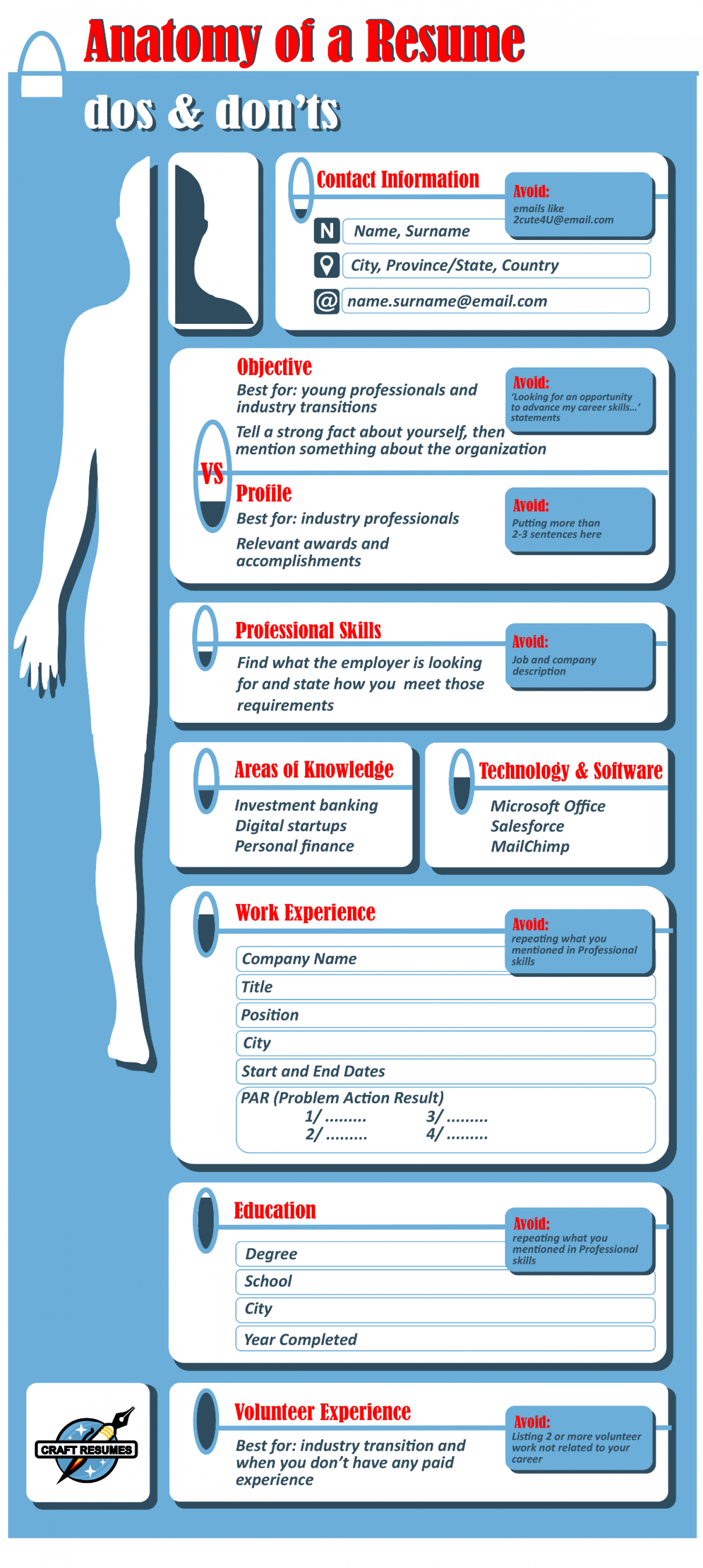 anatomy of a resume how to decode and understand visual ly