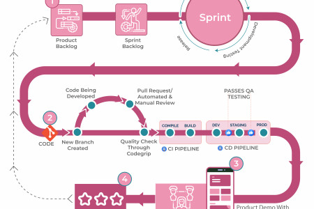 Anatomy Of Perfect Software Delivery Infographic