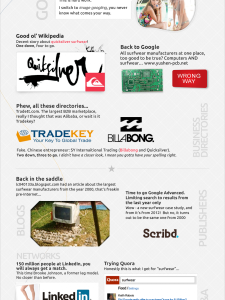 Anatomy Of Search Infographic