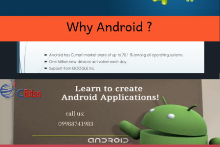 Android training in Chandigarh  Infographic