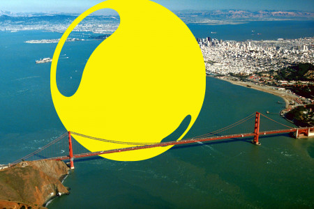 Annual US gasoline consumption makes a sphere 4.36 times the height of the Golden Gate Bridge Infographic