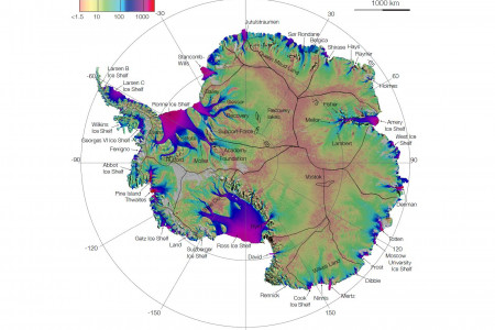 Antarctic Ice Flows: A Complete Picture Infographic