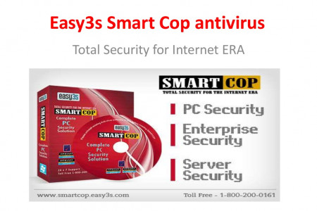 Antivirus for Security Solution - Easy3s.Smartcop  Infographic