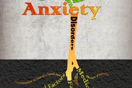 Anxiety Disorders by Tammy Buckley Infographic
