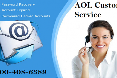 AOL Email Support Number 1-800-408-6389 Infographic