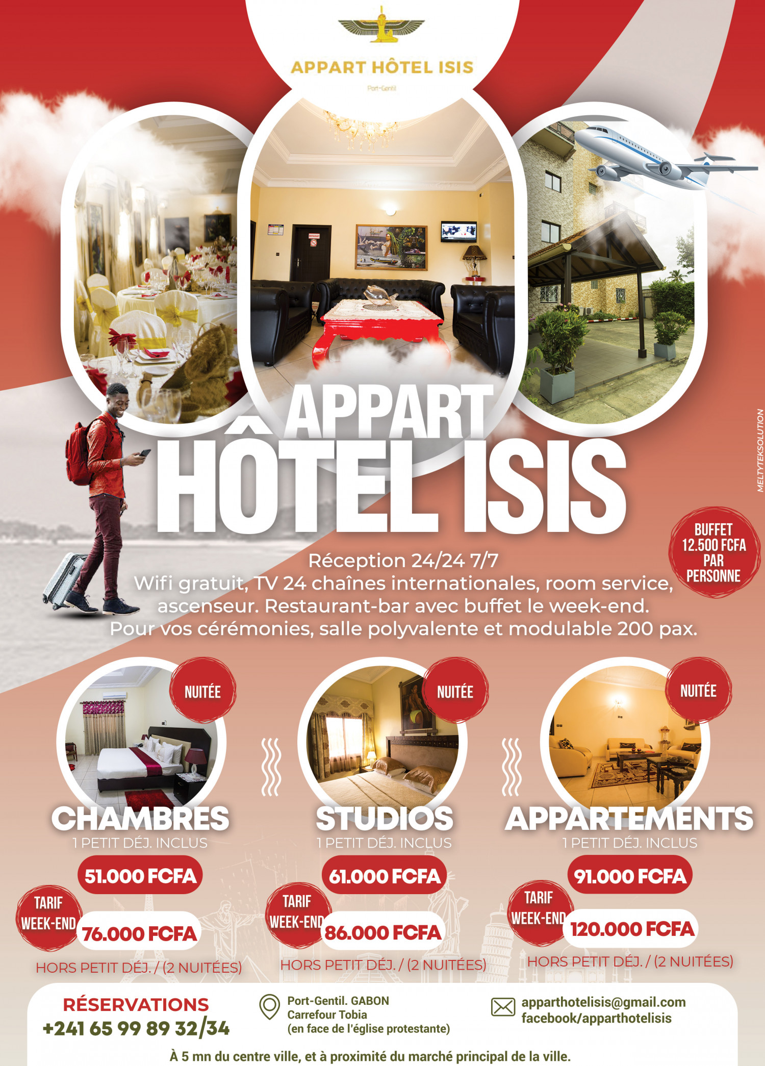 Appart Hotel ISIS Infographic