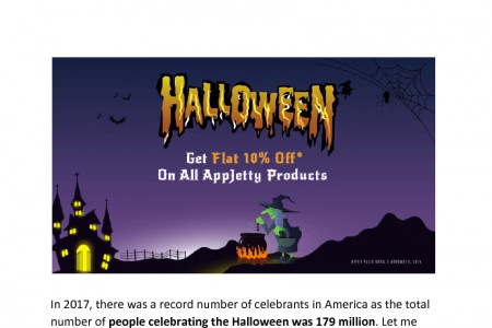 AppJetty Halloween Special Offer 2018: Make Your E-Store Halloween Ready! Infographic