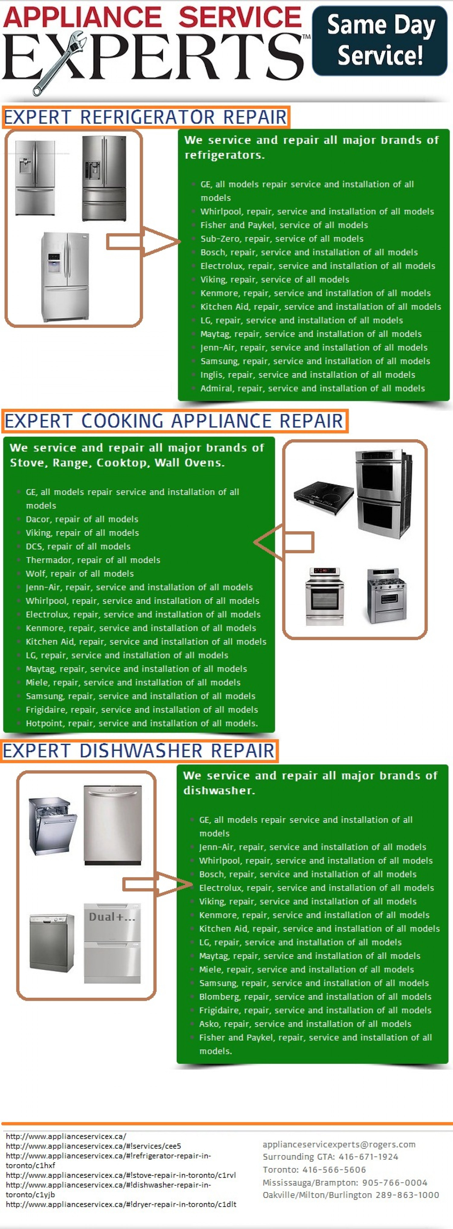 Quality writing services appliance repair dallas