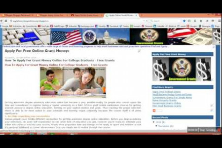 Apply Online Free Grant Money For Minority - Available Free Grant Money For Minorities Infographic
