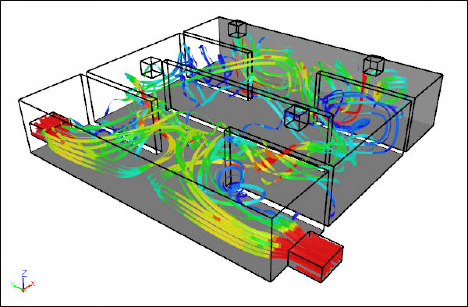 Applying CFD Techniques to Evaluate HVAC Efficiency of Large Buildings  #B31A18