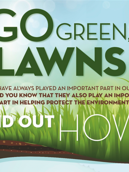 Go Green Lawns!  Infographic