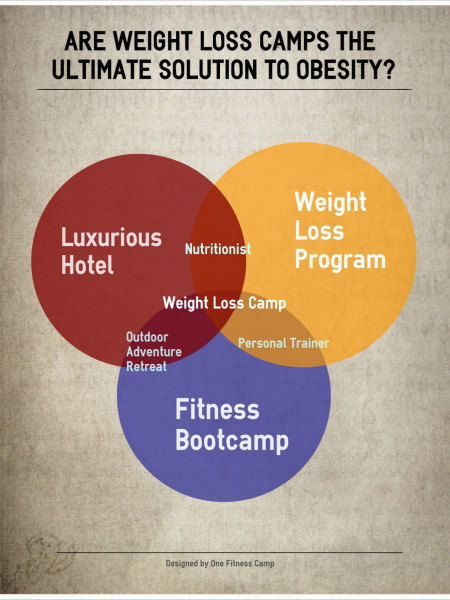 Are Weight Loss Camps the Ultimate Solution to Adult Obesity? Infographic