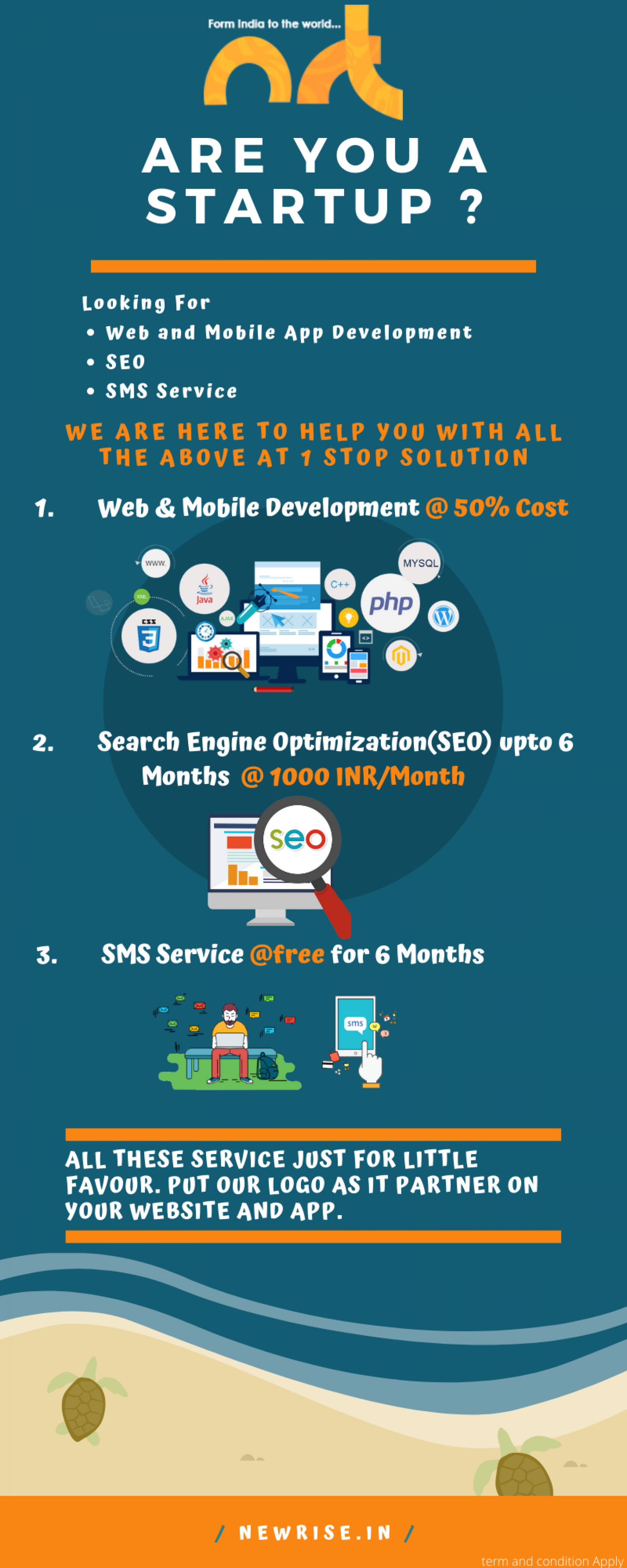 Are You Looking for Web & Mobile Development @ 50% Cost ? Infographic
