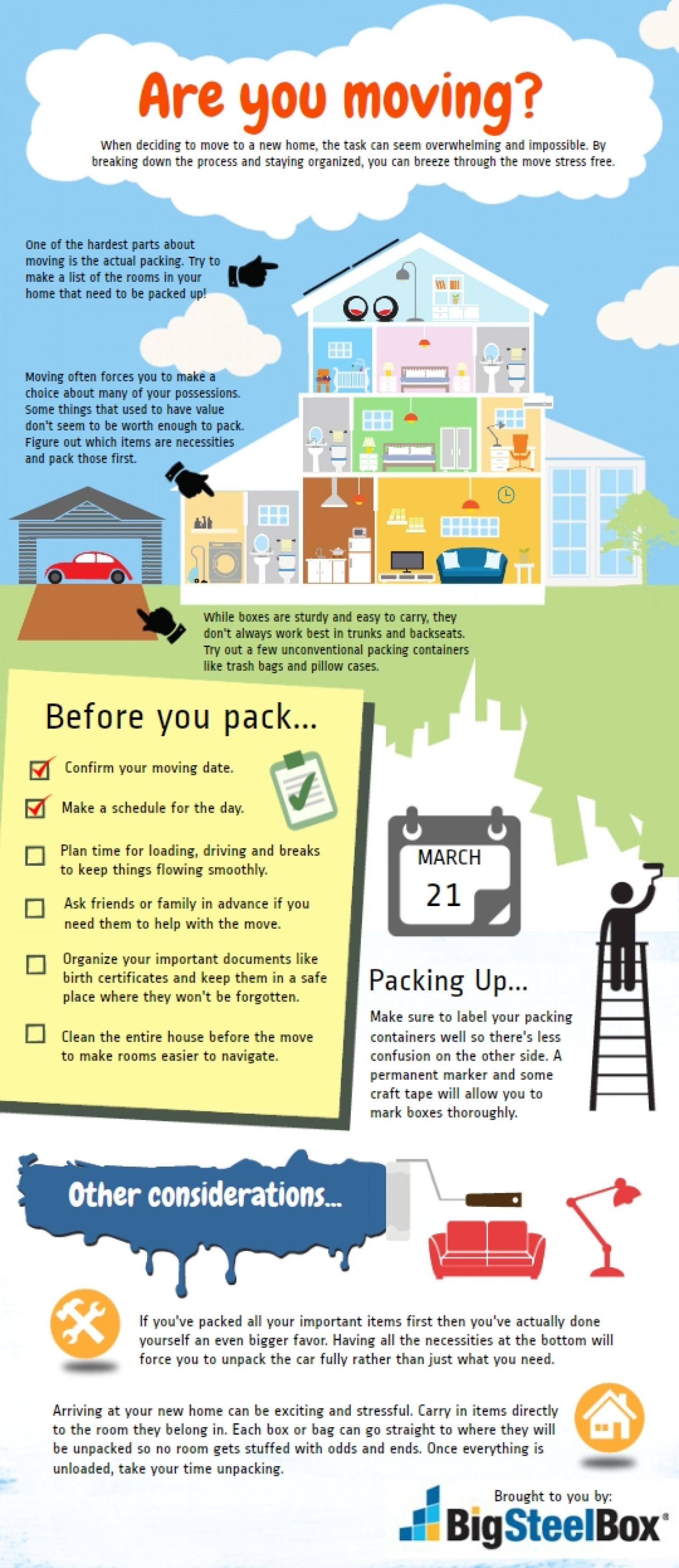 Are you moving homes? Infographic