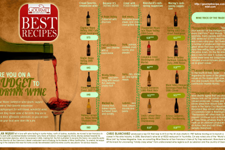 Are you on a Budget to Drink Wine? Infographic