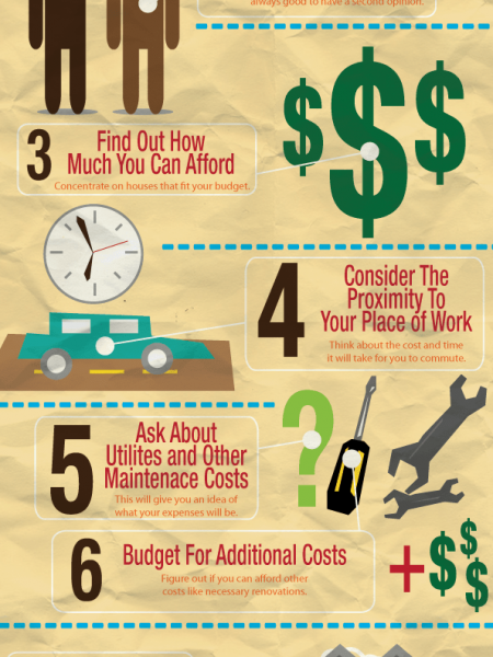 10 House Hunting Tips Infographic