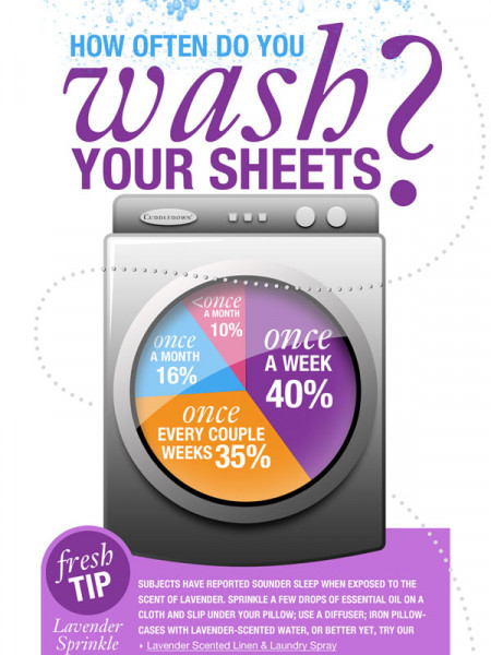 Are your sheets what keep you up at night? Infographic
