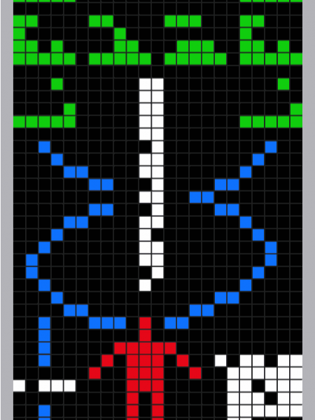 Arecibo Message Infographic