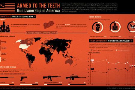 Armed to the Teeth Infographic
