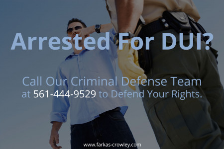 Arrested For DUI Infographic