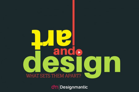 Art and Design: What Sets Them Apart? Infographic