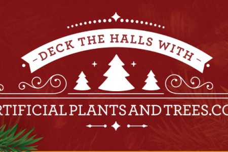 Artificial Christmas Trees Infograph Infographic