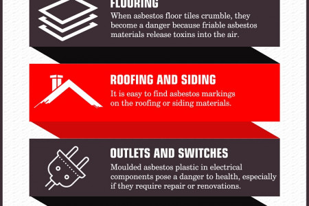 Asbestos: Places in Home Where They Can Be Found Infographic