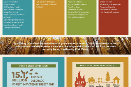 Aspen Center for Environmental Studies: Forest Health Index Infographic