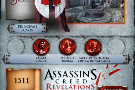 Assassin's Creed Infographic