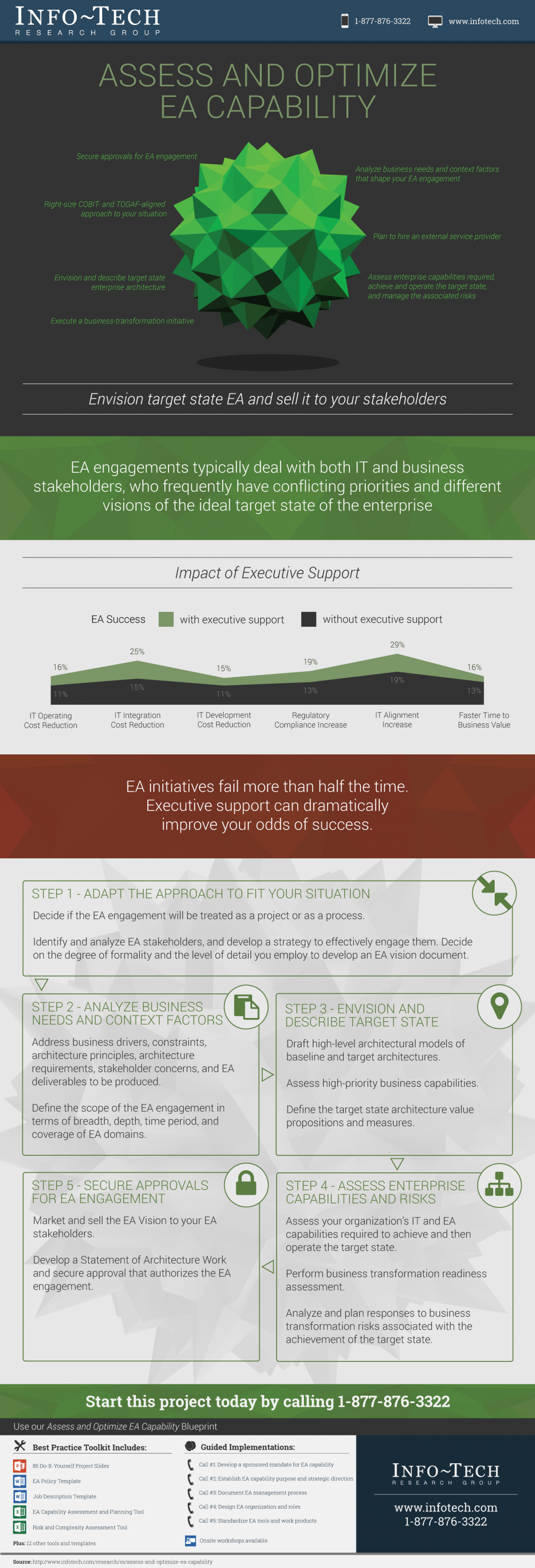 Assess and Optimize EA Capability Infographic