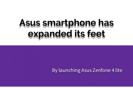 Asus smartphone has expanded its feet Infographic