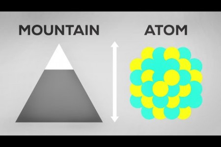 Atoms As Big As Mountains – Neutron Stars Explained Infographic