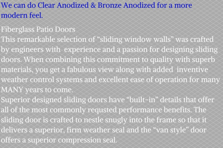 Attractive and Affordable Patio Doors from Thermal Windows Infographic