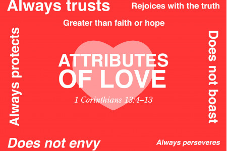 Attributes of Love Infographic