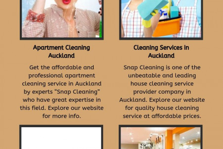 Auckland window cleaning - Snap Cleaning Infographic