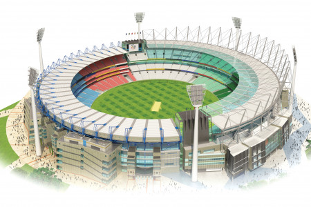 Australia-New Zealand Cricket World Cup/ The Venues Infographic