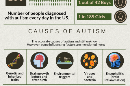 Autism: Facts and Figures Infographic