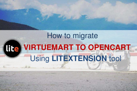 [Automated migration] Export VirtueMart to OpenCart Infographic