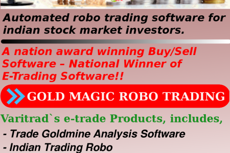 Automatic gold, currency trading software for stock market Infographic