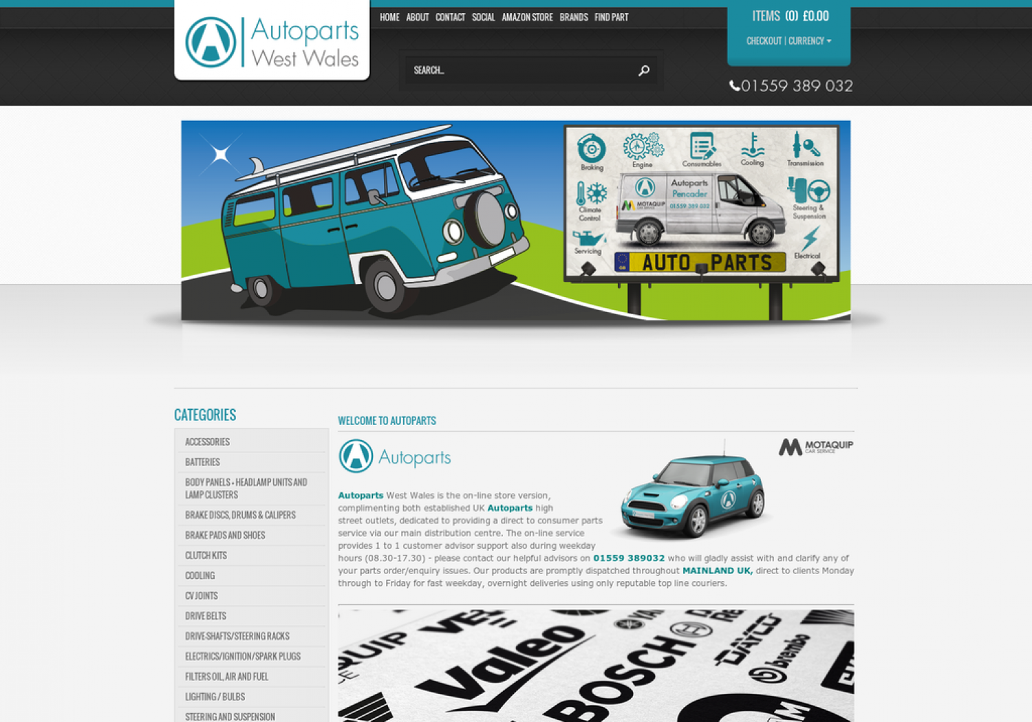Autoparts Online Infographic