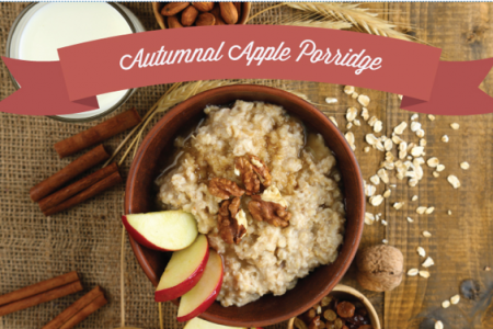 Autumnal Apple Porridge Infographic