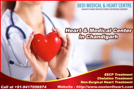 Avail Best Heart Hospital in Chandigarh Infographic