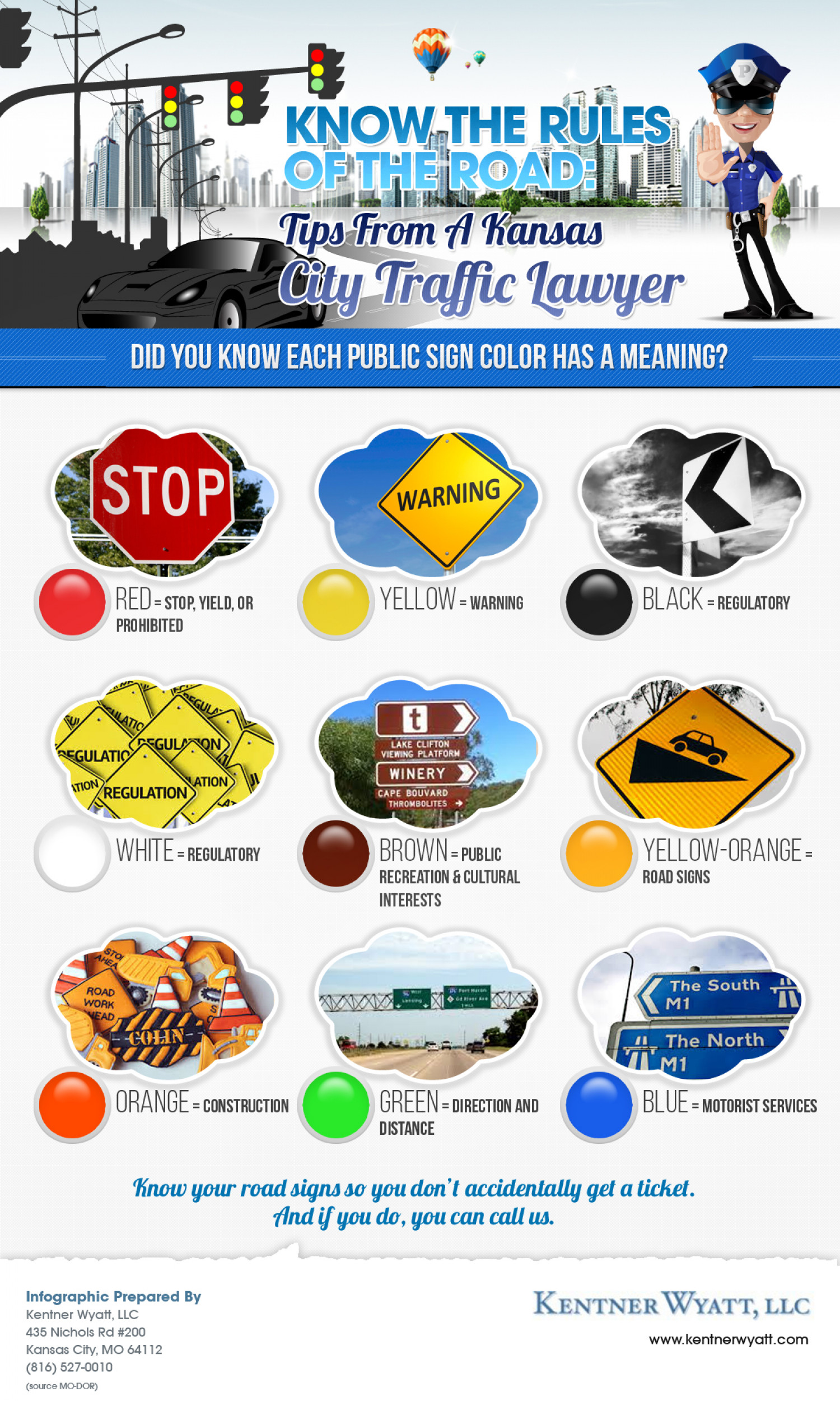 Avoid Needing To Call A Kansas City Traffic Lawyer By Knowing The Rules Of The Road Infographic