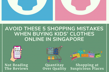 Avoid These 5 Shopping Mistakes When Buying Kids' Clothes Online In Singapore Infographic