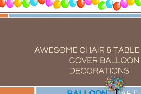 Awsome Chair & Table Cover Balloon Decorations For Sporting Events Infographic