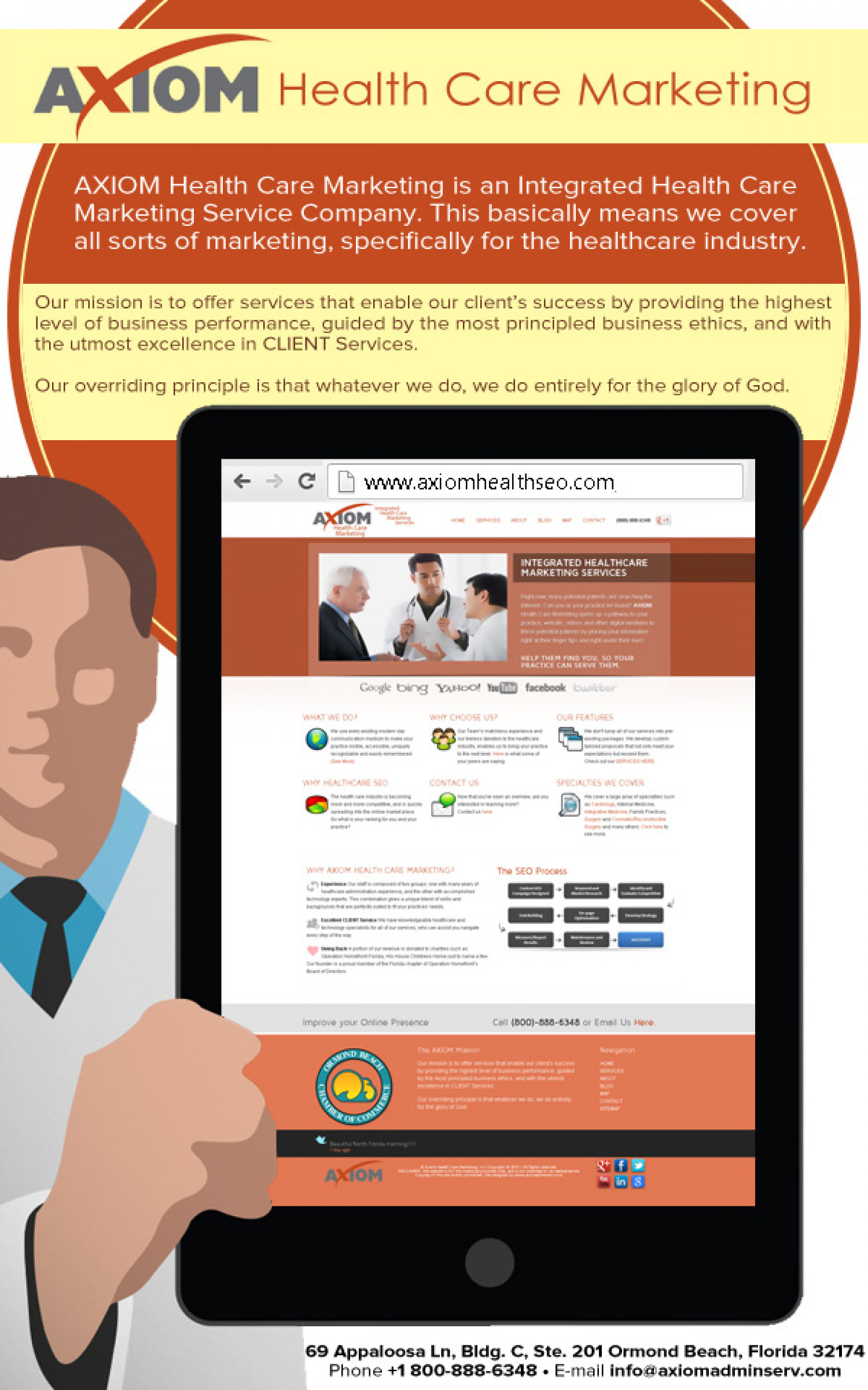AXIOM Health Care Marketing Infographic