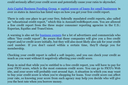 Axis Capital Group Business Funding Jakarta Review: How to Get Your Free Credit Report Infographic