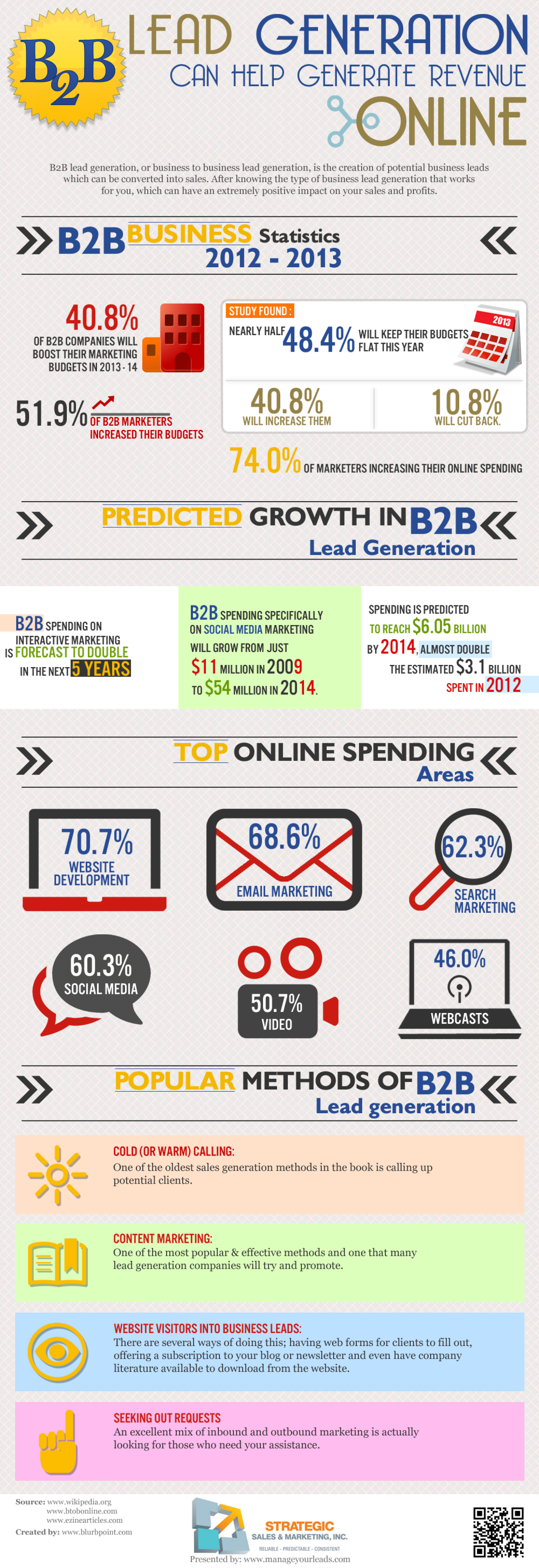 B2B Lead Generation  Infographic
